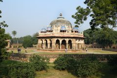 Tombe de Humayun à Delhi, Inde photographie stock