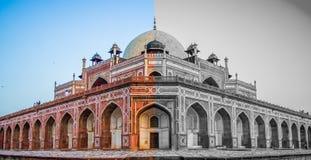 Tombe de Humayuns Image libre de droits