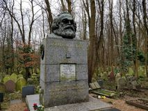 Tombe de Karl MARX images libres de droits