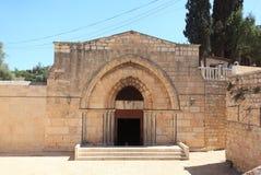 Tombe de la Vierge Mary Facade, Jérusalem Photos stock