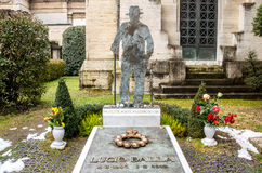 Tombe de Lucio Dalla photo stock