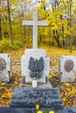 Tombe de Major Henryk Sucharski sur le Westerplatte, Pologne Image stock