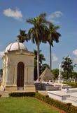Tombe de nécropole Cristobal Colon Photos stock