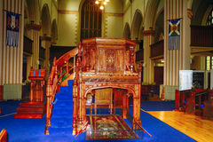 Tombe de Robert Bruce, Dunfermline, Ecosse photographie stock