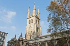 Tombe de saint à Londres, Angleterre Images libres de droits