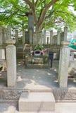 Tombe de Saito Hajime dans Aizuwakamatsu, Japon Images libres de droits