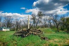 Tombe de Scythian Photographie stock libre de droits