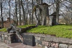 Tombe de Turaida Rose photos libres de droits