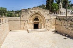 Tombe de Vierge Marie à Jérusalem, Israël Photographie stock