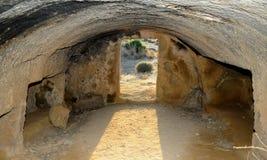 Tombe dei re Immagini Stock Libere da Diritti