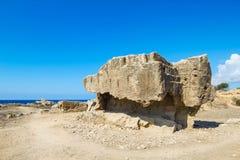 Tombe dei re Fotografia Stock