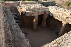 Tombe dei re Cipro Immagine Stock