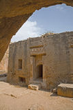 Tombe dei re, Paphos, Cipro Immagine Stock