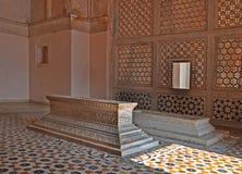 Tombe della famiglia al complesso, Agra Fotografia Stock