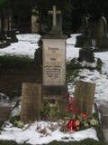 Tombe della famiglia di Mozart, Salisburgo immagine stock libera da diritti