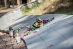 Tombe di Bykivnia Fotografia Stock Libera da Diritti