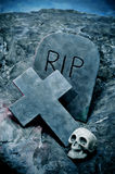 Tombe di Halloween Fotografia Stock Libera da Diritti