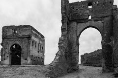 Tombe di Merenid in Fes, Marocco Fotografie Stock