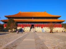 Tombe di Ming Immagini Stock