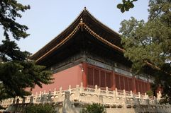 Tombe di Ming Fotografie Stock