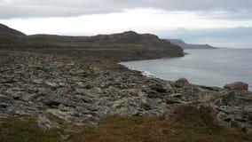 Tombe di sami in Mortensnes Fotografia Stock Libera da Diritti