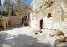 Tombe du Christ images libres de droits