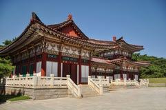 Tombe du Roi Tongmyong en Corée du Nord image stock