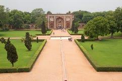 Tombe du ` s de Humayun, Delhi, Inde photographie stock