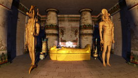 Tombe egiziane Fotografie Stock Libere da Diritti