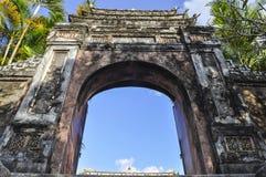 Tombe impériale d'empereur Khai Dinh Hue - Vietnam photos stock