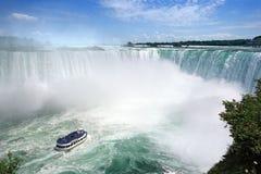 tombe le tourisme de Niagara Images stock