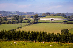 Tombe mégalithique 3200 de passage de Newgrange AVANT JÉSUS CHRIST Images stock