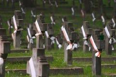 Tombe polacche Immagini Stock Libere da Diritti