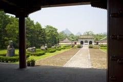 Tombe reali di Jingjiang, Guilin, Cina immagine stock libera da diritti