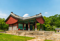 Tombe reali di Seonjeongneung Fotografie Stock