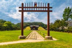 Tombe reali di Seonjeongneung Immagini Stock Libere da Diritti