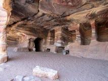 Tombe reali Petra Jordan Fotografia Stock