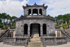 Tombe royale du Vietnam Photographie stock libre de droits