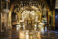 Tombe sainte, Jérusalem Photo stock