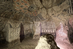Tombe souterraine de Tierradentro image stock