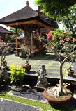 Tombeau antique, temple hindou de Bali Photo libre de droits