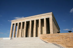 Tombeau d'anitkabir d'Ataturk Photo stock