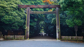 Tombeau d'Atsuta à Nagoya, Japon photo libre de droits