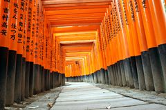 tombeau d'inari de fushimi Images stock