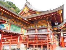Tombeau d'inari de Yutoku dans la saga, Japon Image libre de droits