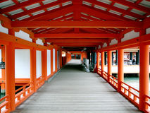 Tombeau d'Itsukoshima à Miyajima, Japon Images stock