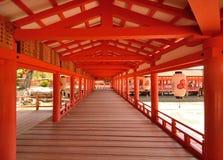 Tombeau d'Itsukushima photo stock