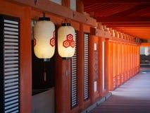 Tombeau d'Itsukushima, Japon photographie stock libre de droits