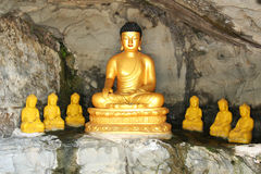 Tombeau de Bouddha en Guam Photos stock