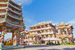 Tombeau de Chinois, un beau temple chinois. Photos stock